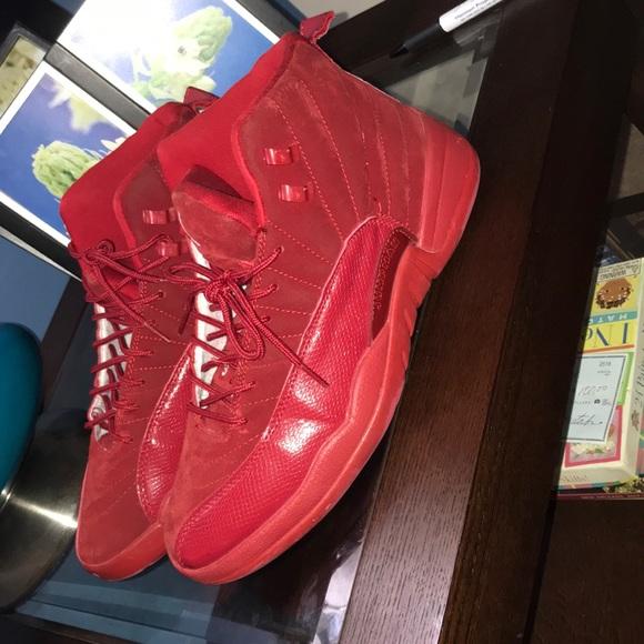 online retailer 3b274 3c9f4 Retro Red Suede 12s NWT